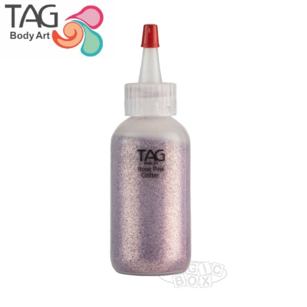 Tag Glitter, 15ml Rose Pink