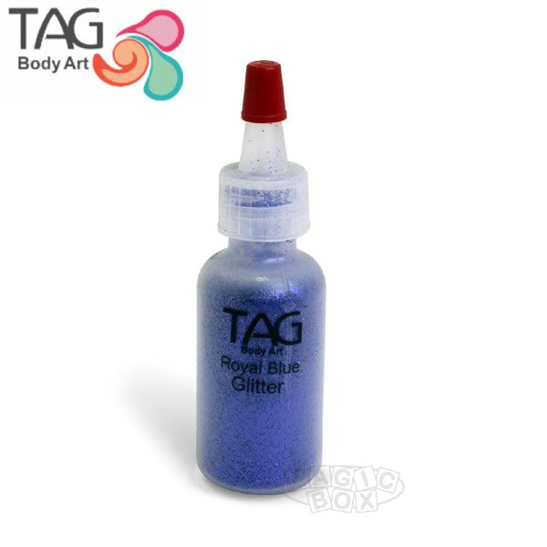 Tag Glitter, 15ml Royal Blue