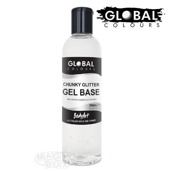 Global, Glitter Gel, 250ml