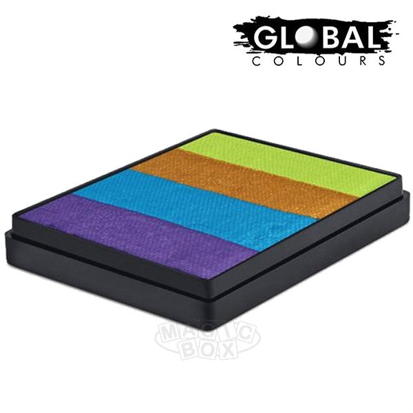 Global 50g Rainbow Cake, French Quarter