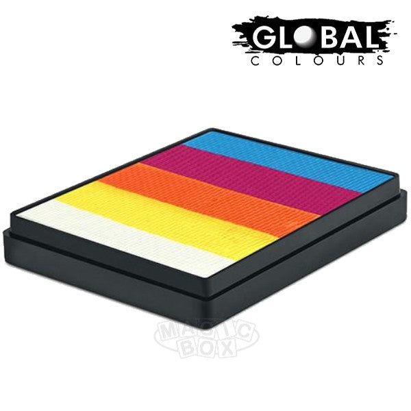 Global 50g Rainbow Cake, Hawaiian Sunset