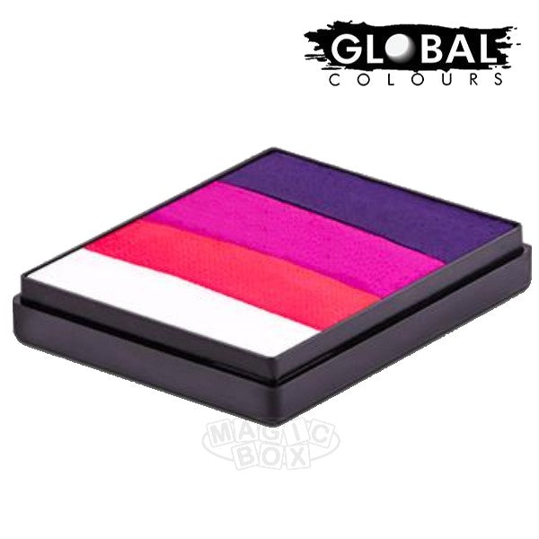 Global 50g Rainbow Cake, Little Lady
