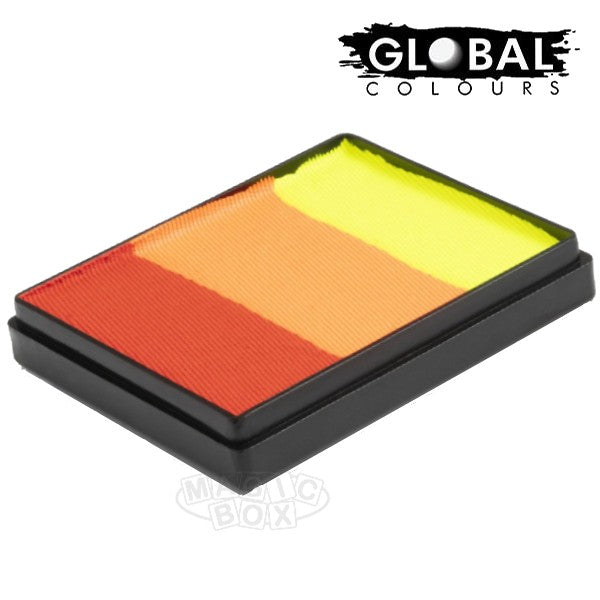 Global 50g Rainbow Cake, Brightest Tiger