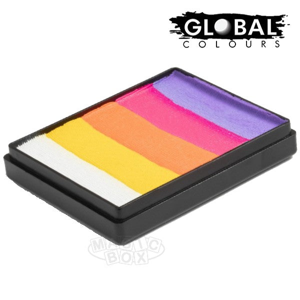 Global 50g Rainbow Cake, Caribbean