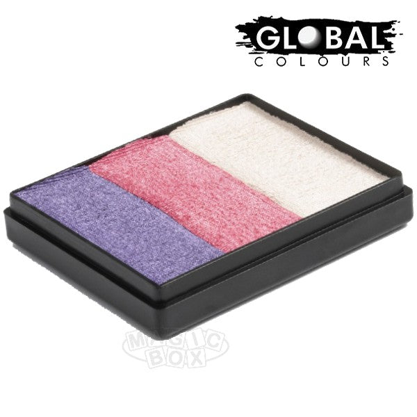 Global 50g Rainbow Cake, Pearly Girl