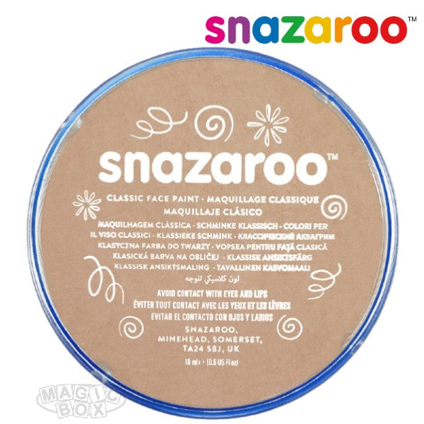 Snazaroo, 18ml Beige Barely