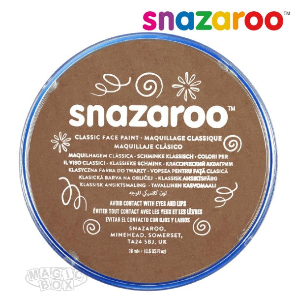 Snazaroo, 18ml Beige Brown