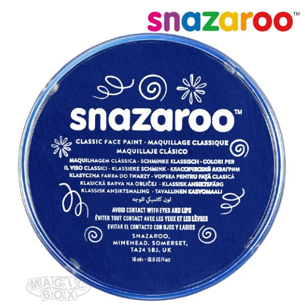 Snazaroo, 18ml Blue Dark