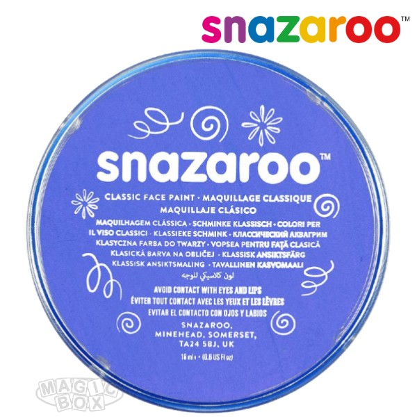 Snazaroo, 18ml Blue Sky