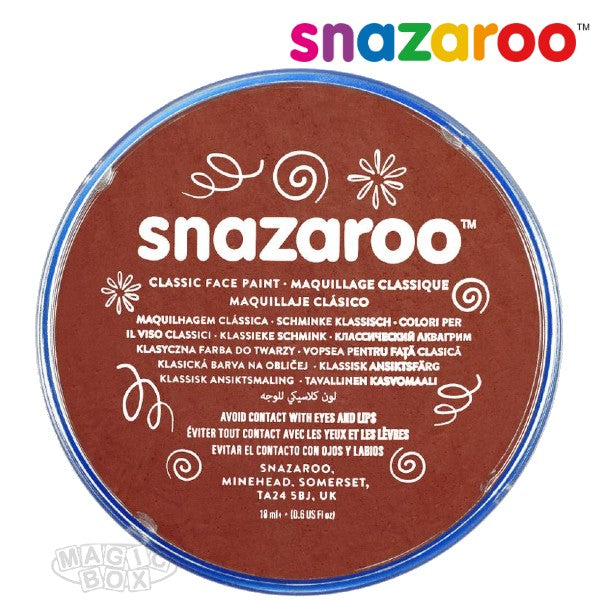 Snazaroo, 18ml Brown Rust