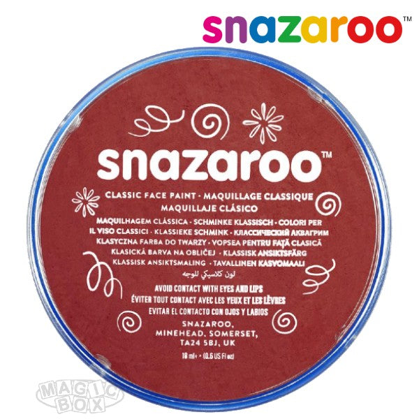 Snazaroo, 18ml Burgundy