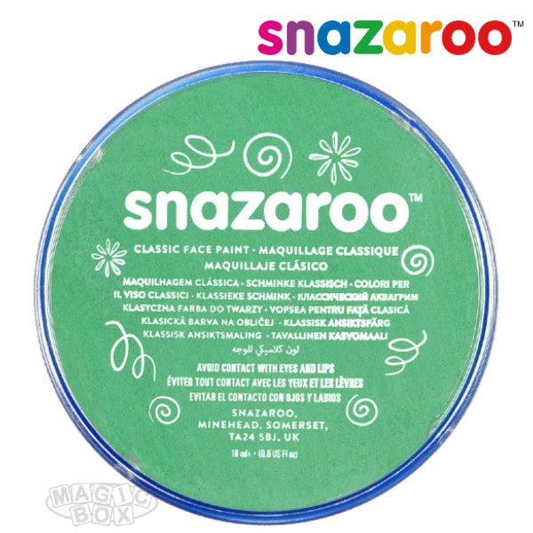 Snazaroo, 18ml Green Bright