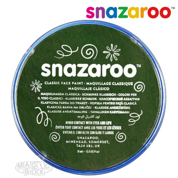 Snazaroo, 18ml Green Dark