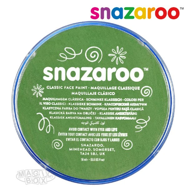 Snazaroo, 18ml Green Grass