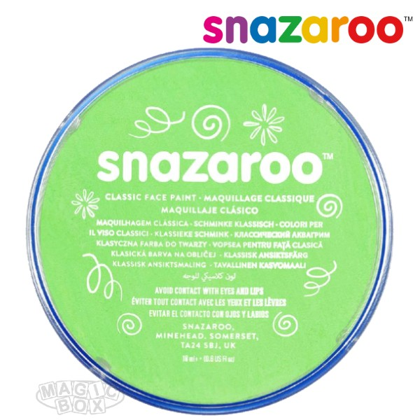 Snazaroo, 18ml Green Lime