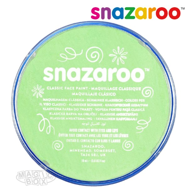 Snazaroo, 18ml Green Pale
