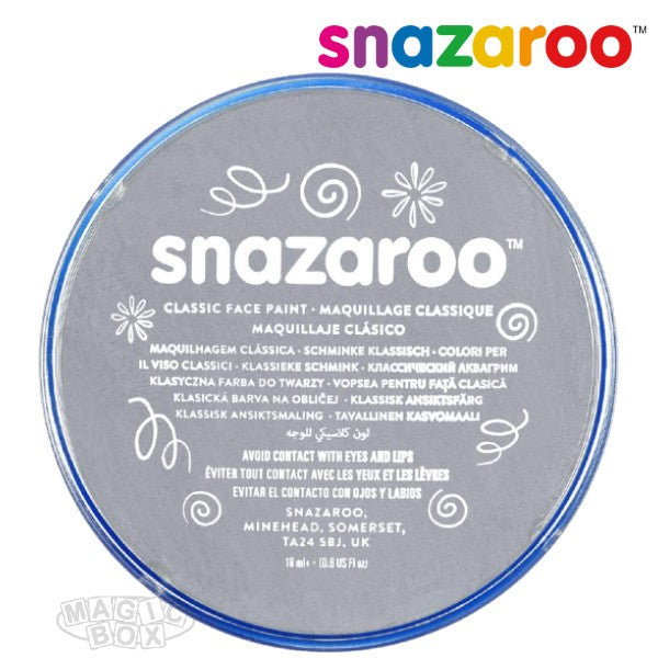 Snazaroo, 18ml Grey Dark