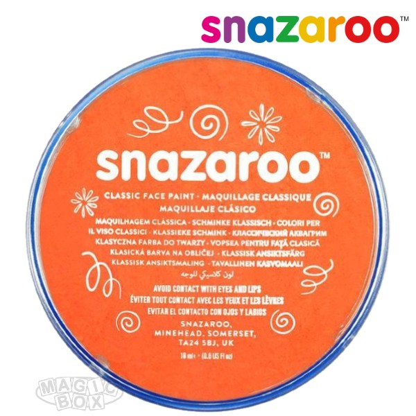 Snazaroo, 18ml Orange