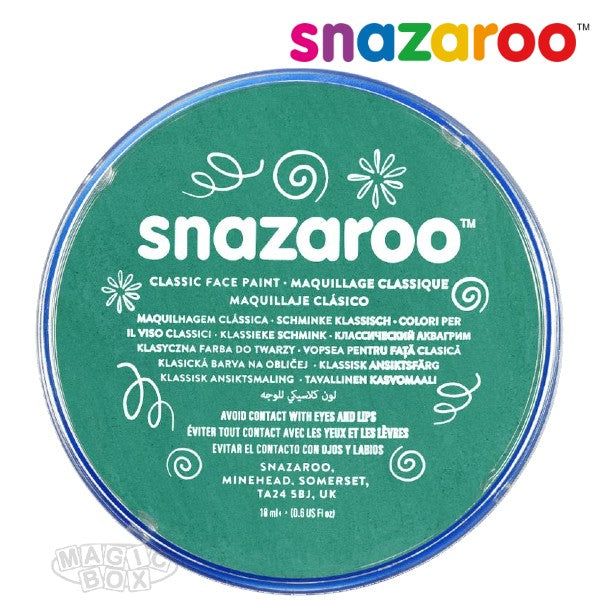 Snazaroo, 18ml Teal