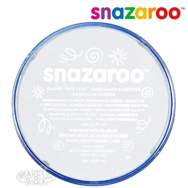 Snazaroo, 18ml White