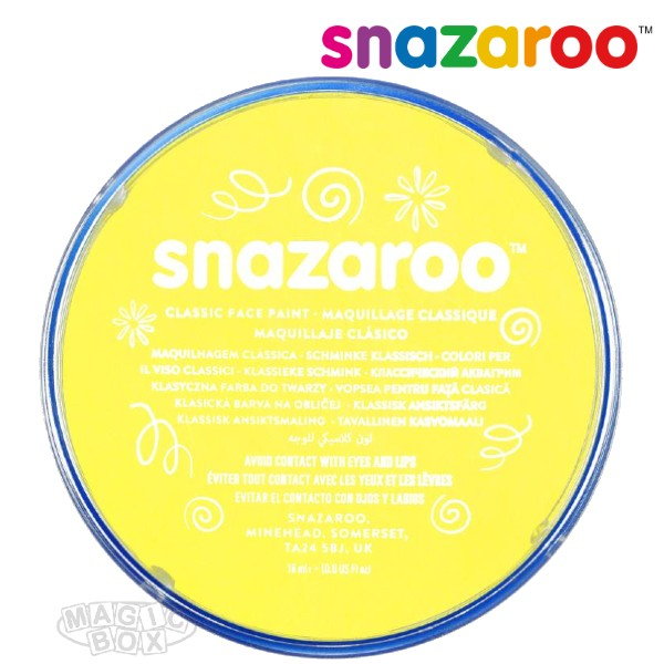 Snazaroo, 18ml Yellow Pale