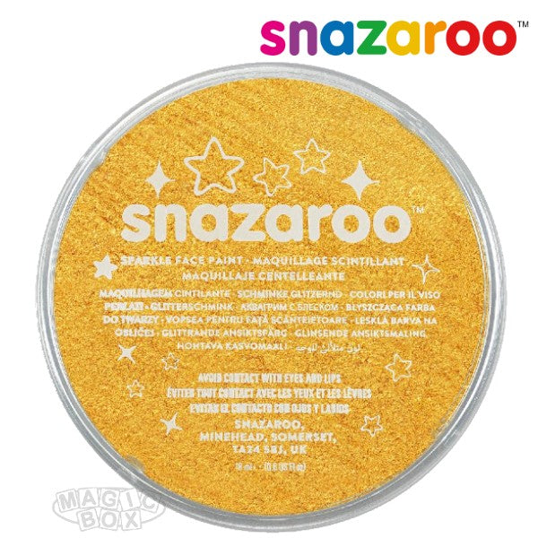 Snazaroo 18ml Sparkle Yellow