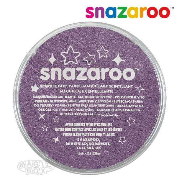 Snazaroo 18ml Sparkle Lilac