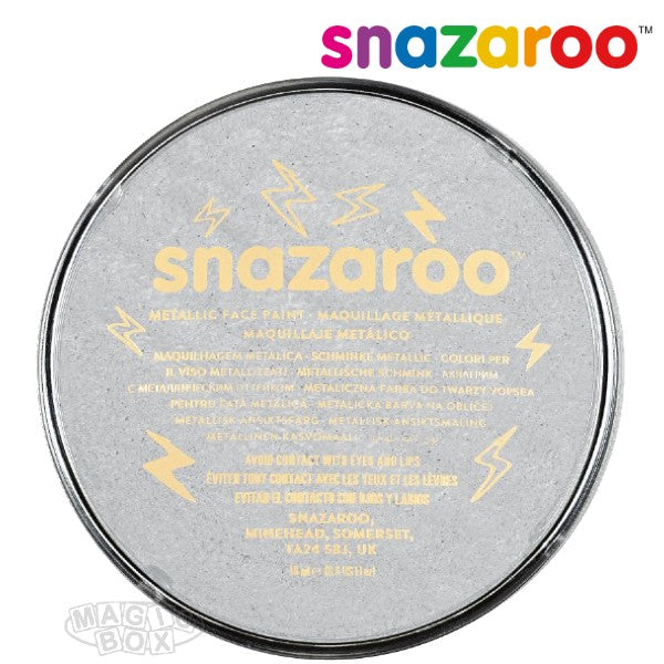 Snazaroo 18ml Metallic Silver