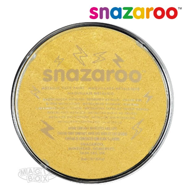 Snazaroo 18ml Metallic Gold