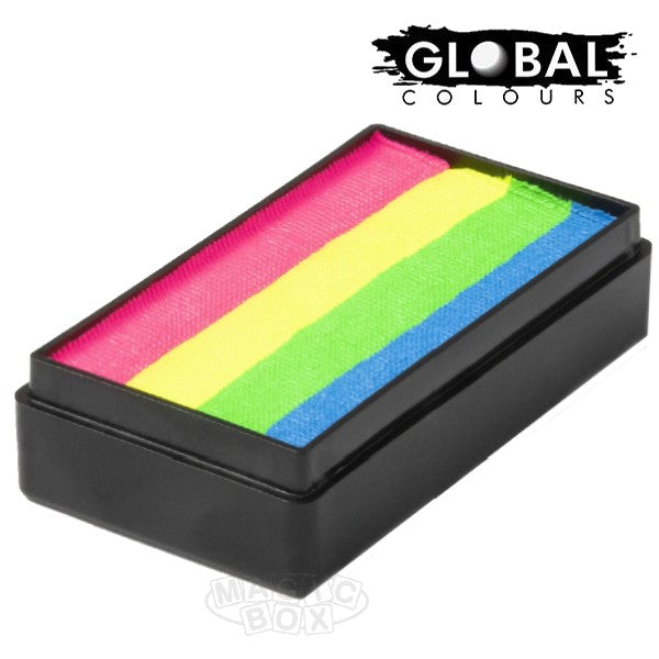 Global 25g Fun Strokes, Rainbow Glow