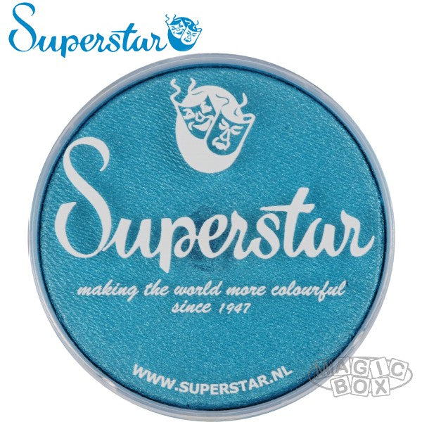 Superstar 16g, Shimmer Star Petrol Blue