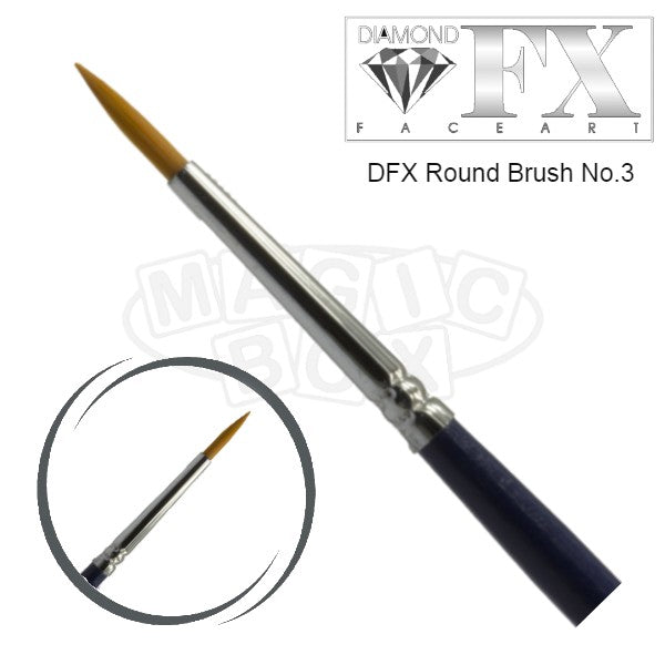 DFX Round Brush No. 3