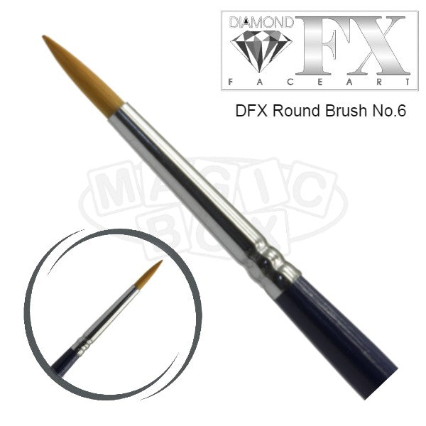 DFX Round Brush No. 6