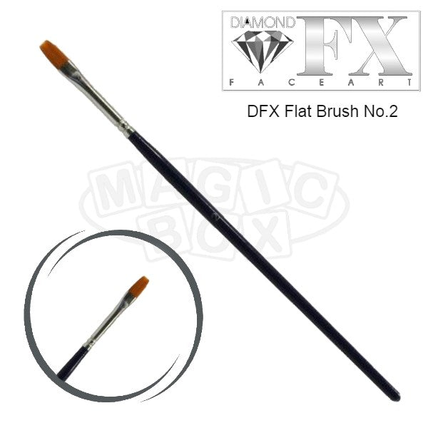 DFX Flat Brush No 2