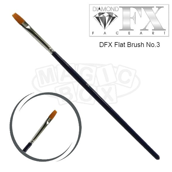 DFX Flat Brush No 3