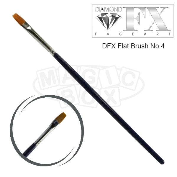 DFX Flat Brush No 4