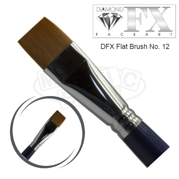 DFX Flat Brush No 12