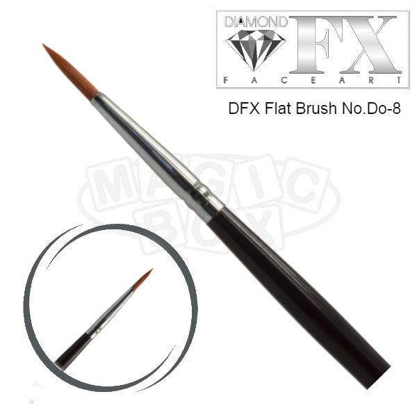 DFX Professional Round Brush D0-8