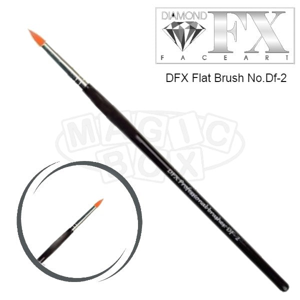 DFX Professional Flower Brush DF-2