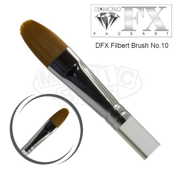DFX Filbert Brush No 10
