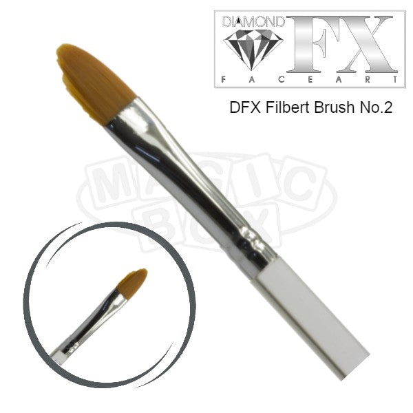 DFX Filbert Brush No 2