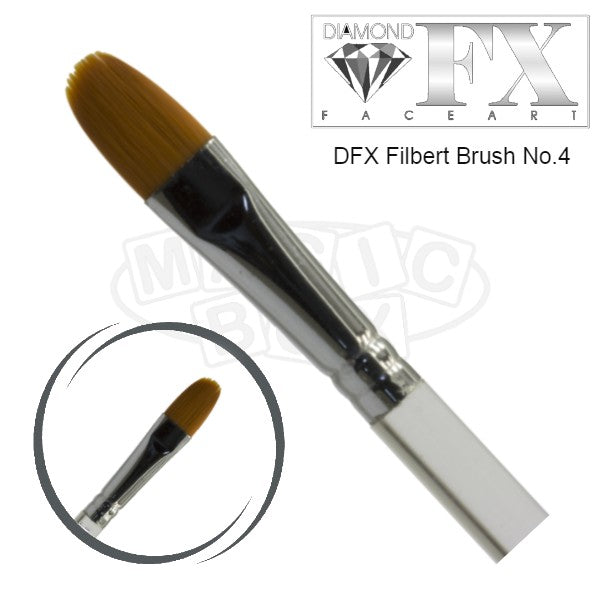 DFX Filbert Brush No 4