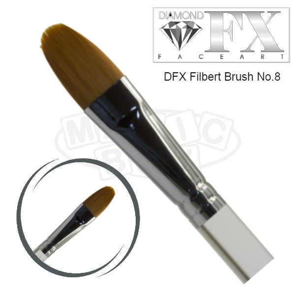 DFX Filbert Brush No 8