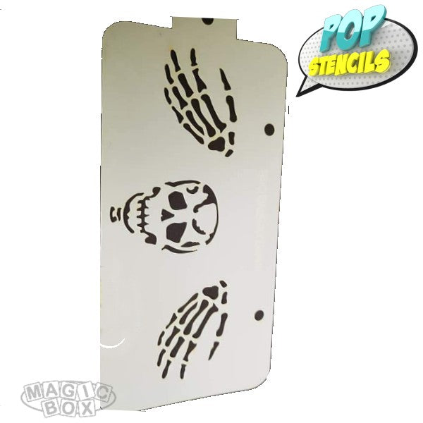 Pop Stencil Midi, Skeleton n Hands