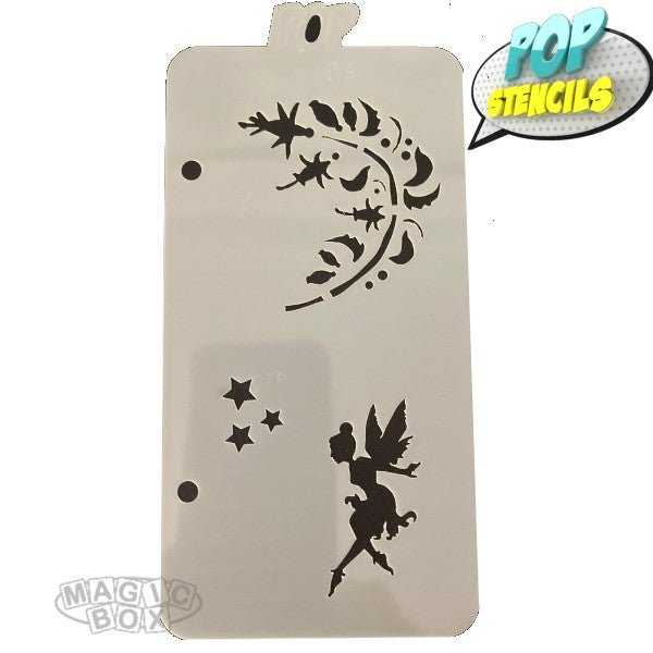 Pop Stencil Midi, Fairy Vine