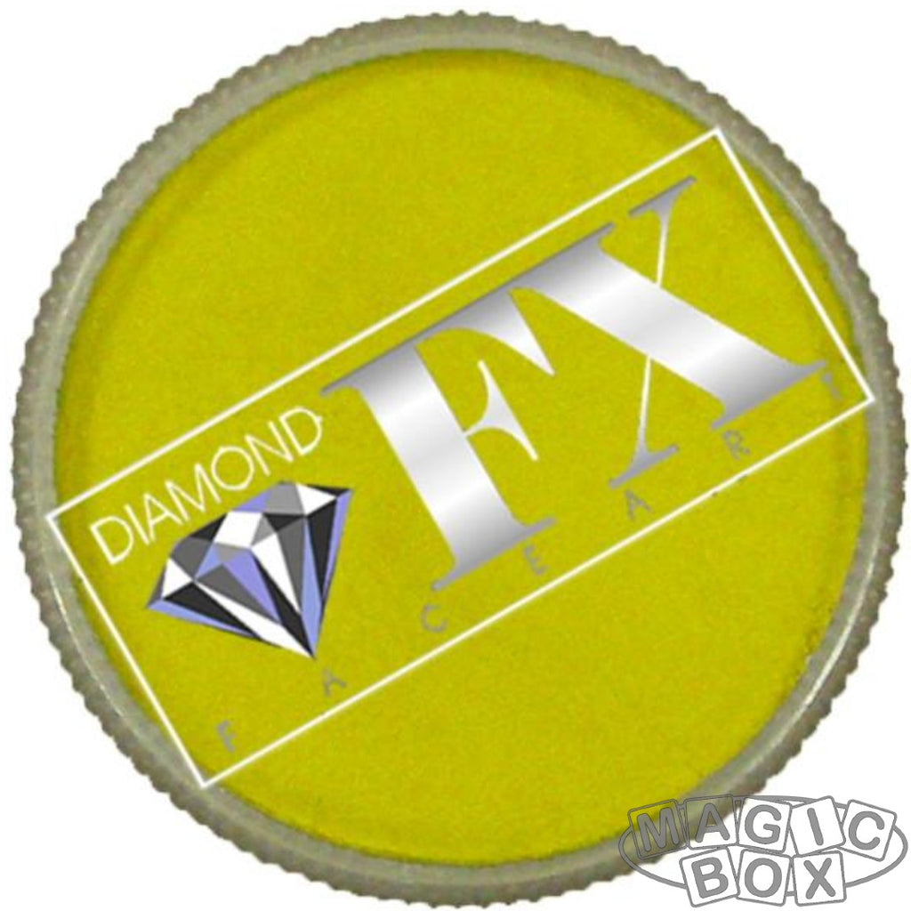Diamond FX, Metallic Yellow 30g
