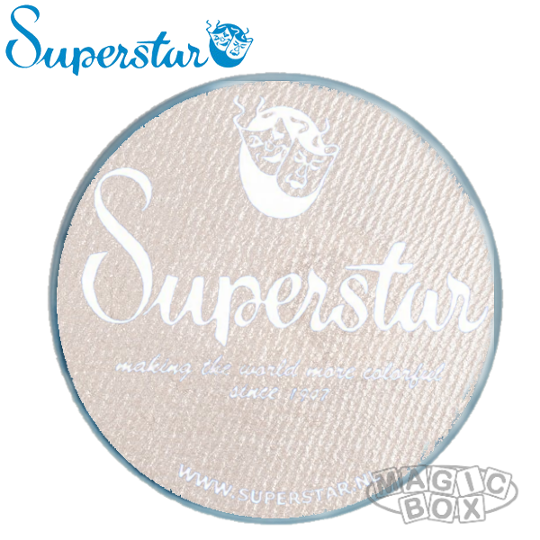 Superstar 45g, Shimmer Silver White