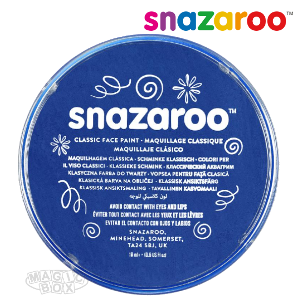 Snazaroo, 18ml Blue Royal