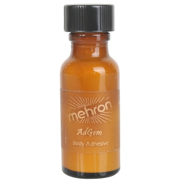 Mehron Ad Gem Liquid Adhesive 15ml
