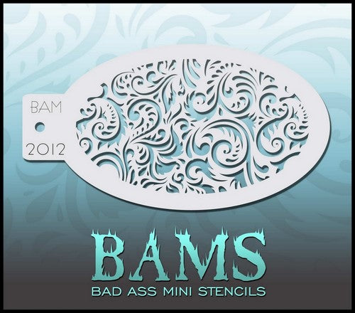 Bam's 2012, Floral Swirls